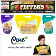 Care Bakery 25% Off Pepper's Foods ty