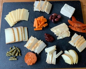 celiac summer fun cheeseboard
