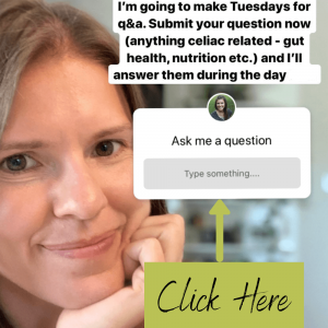 Celiac Dietitian Q&A Tuesday ig