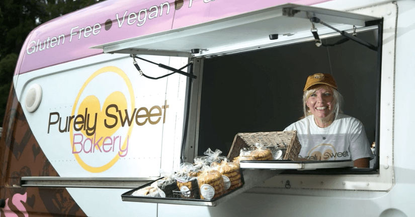 Purely Sweet Baking Truck