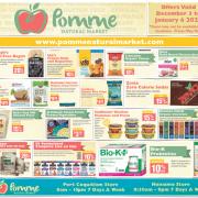 Pomme Natural Market Gluten Free Flyer
