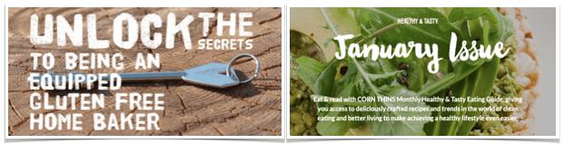 Celiac Scene January 2021 e-News Recipes 2