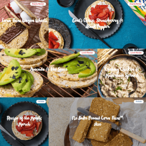 Corn Thins Recipes March