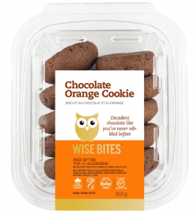 Wise Bites Chocolate Orange Cookies