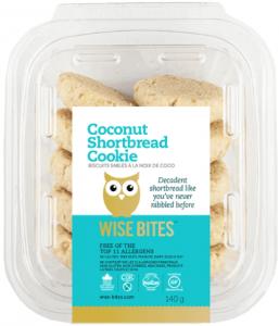 Wise Bites Coconut Shortbread Cookies