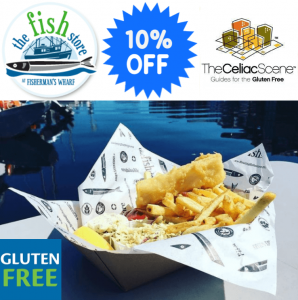10% Discount - Mention The Celiac Scene @ The Floating Fish Store | Victoria | British Columbia | Canada
