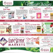 Lifestyle Markets Gluten Free Flyer