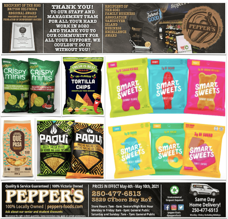 Pepper's Foods Gluten-Free Flyer