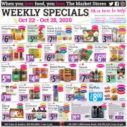 The Market Stores Gluten-Free Flyer