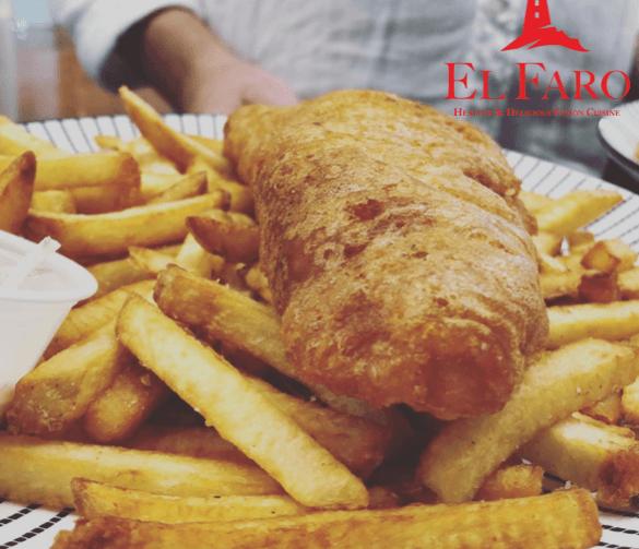 El Faro Fusion GF Fish & Chips