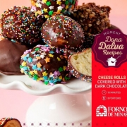 Forno De Minas Chocolate Covered Cheese Rolls WP