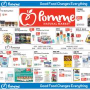 Pomme Natural Markets Gluten-Free Flyer