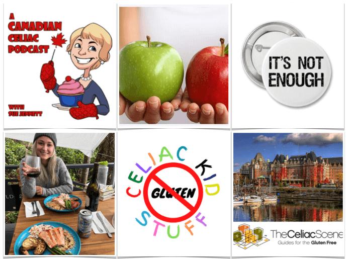 Celiac Scene Canadian Podcast Round Up fb