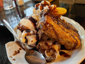 Deep-Fried S'mores Pirate Chips