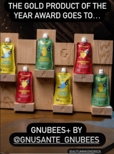Gnu Sante gnubees Product of the Year